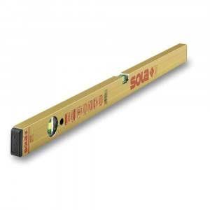 Livella magnetica alluminio 2 bolle AZM Sola