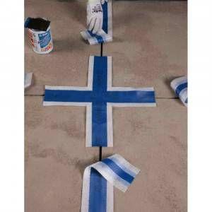 Nastro gommato a croce per impermeabilizzazioni Mapeband Cross Mapei