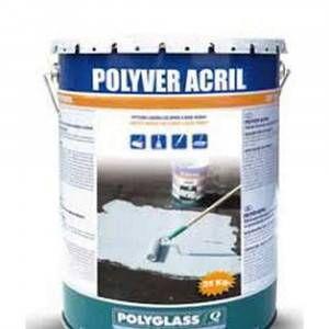Polyver Acril bianco da 25 Kg Polyglass