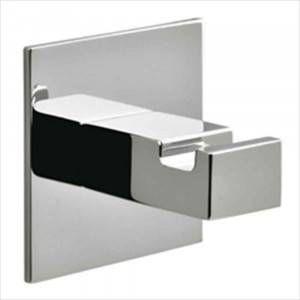 Porta accappatoio quadro cromo Basic Colombo Design
