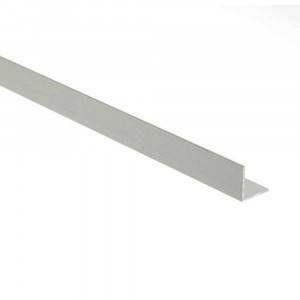 Profilo Angolare 15x10x1 2,00 mt Alluminio Anodizzato Argento 10184 Profilpas