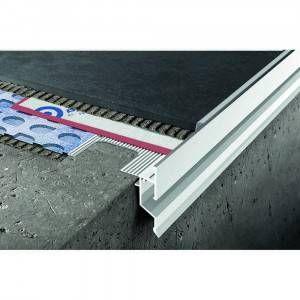 Profilo in alluminio verniciato per balconi 125x270mm Proterrace Drain Drip Progress Profiles