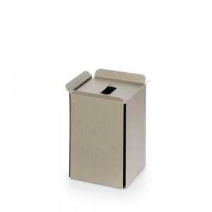 Gettacarta in alluminio verniciato sabbia Art.53442.21 Bandoni Lineabeta