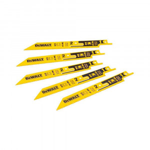 Set 5 lame Bi-Metal a spezzare DeWalt