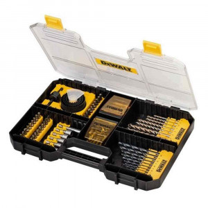 Set per forare e avvitare 100pz per cassetta T-Stack Art. DT71569 Dewalt
