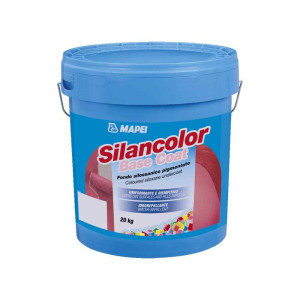 Fondo uniformante idrorepellente 20kg Silancolor Base Coat Mapei
