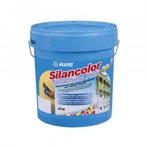 Silancolor Tonachino Plus Mapei rivestimento silossanico igienizzante per esterni ed interni 1,2mm 20 Kg
