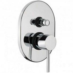 Miscelatore cromato a incasso con deviatore automatico per doccia/vasca 1370 Joy Gaboli