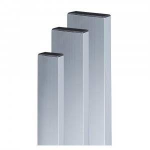 Stadia in alluminio con tappi 80x40 Lamel