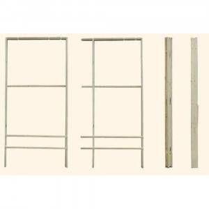 Controtelaio in legno universale spessore 105 mm altezza 215 cm 8152 Pircher