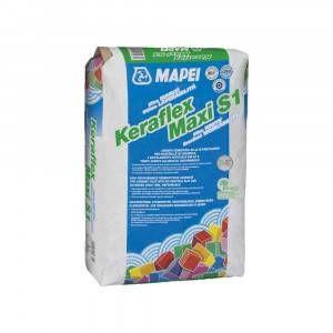 Keraflex Maxi S1 Mapei adesivo cementizio bianco per incollaggio di piastrelle 23 Kg