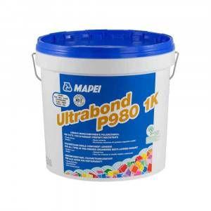 Adesivo monocomponente per incollaggio di parquet 15Kg Ultrabond P980 1K Mapei