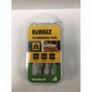 Tassello nylon universale PX 10x60 DFM346010P DeWalt