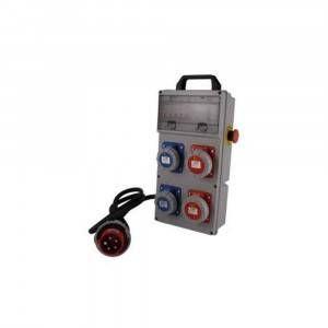 Quadro elettrico portatile con pulsante di emergenza 40494 FT