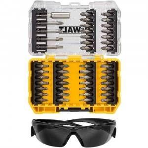 Set DT70703 47 pezzi per avvitare + occhiali DeWalt