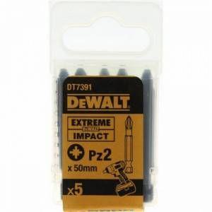 Set inserto avvitatura 50mm 5pz  DT7391T DeWalt