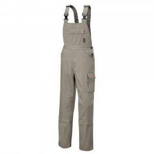 Salopette da lavoro grigio davy 260gr Art. 7933Q Workwear Cotton Beta