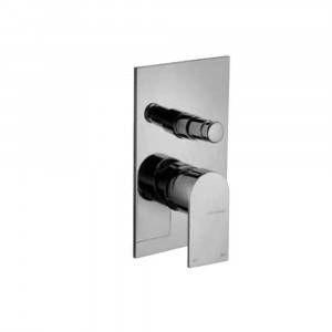 Miscelatore ad incasso per doccia con deviatore cromato 83010 Tolomeo Frattini