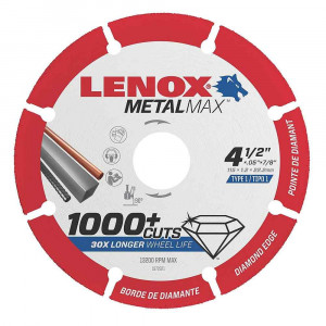 Disco per smerigliatrice angolare 115mm Metalmax Lenox