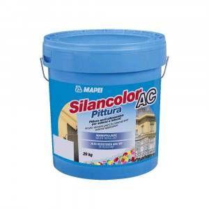 Silancolor AC Pittura Mapei pittura acril-silossanica resistente agli UV 20 Kg