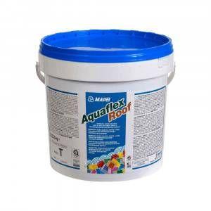 Membrana liquida per impermeabilizzazione in esterno 5kg Aquaflex Roof Mapei