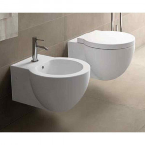 Vaso sospeso 53 x 38 cm bianco EASVSE Easy Bath Evo Cielo Ceramica