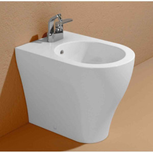 Bidet bianco filo muro App Plus AP217 Flaminia