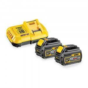Kit caricabatterie + 2 batterie 9.0Ah DCB118X2 DeWalt