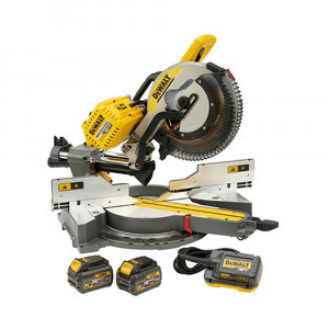 Troncatrice radiale DHS780T2A XR Flex Volt Brushless 54V + Omaggio Smerigliatrice angolare DCG405N DeWalt