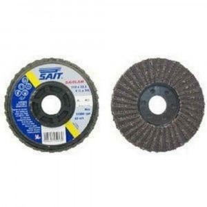 Disco lamellare abrasivo in carburo di silicio 165x22,23mm Saitlam Sait