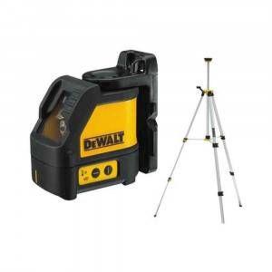Tracciatore laser a raggio rosso con mini treppiede DW088KTRI DeWalt