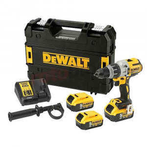 Trapano a percussione brushless XRP 18V 5Ah con 3 batterie DCD996P3 DeWalt