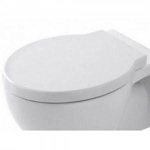 Coprivaso bianco chiusura rallentata CPVEASTF Easy Bath Evo Cielo Ceramica