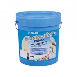 Elastocolor Pittura Mapei pittura elastomerica protettiva antifessurazione per interni ed esterni 20 Kg