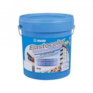 Rivestimento elastometrico igienizzante per esterni ed interni 20Kg Elastocolor Tonachino Plus Mapei