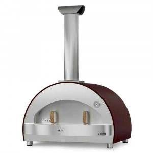 Forno a legna 4 Pizze Rame versione top Alfa Refrattari