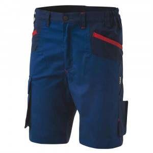 Bermuda da lavoro Inn-Brake Blu Como 12DUC1 Ducati Workwear