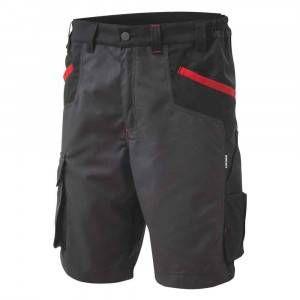 Bermuda da lavoro Inn-Brake Nero/Grigio12DUC1 Ducati Workwear