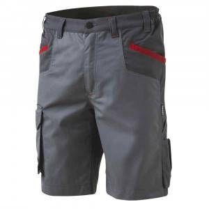 Bermuda da lavoro Inn-Brake Grigio chiaro 12DUC1 Ducati Workwear