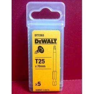 Inserto Torx 70mm T25 DT7293 DeWalt