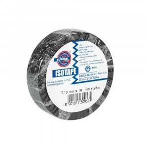 Nastro isolante nero 25x25 0150S1239 Isotape Eurocel