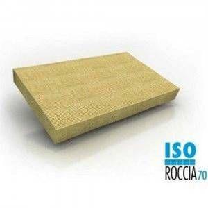 Lana di roccia densità 70 spessore 4cm Art. 2433448 Isoroccia Knauf