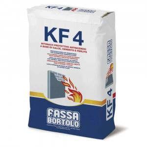 Intonaco protettivo antincendio per interni ed esterni 30Kg KF4 Fassa Bortolo