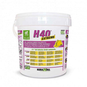 Gel adesivo H40 Extreme Eco 2 da 10kg 08226 Kerakoll