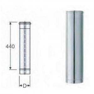 Modulo lineare acciaio AISI 316 200x45mm Polymaxacciai