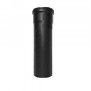 Modulo nero per stufe a pellet 80x20mm Tubì Polymaxacciai