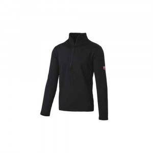 Pile mezza zip nera 31DUC1 Inn Grid Ducati Workwear