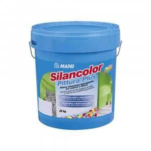 Silancolor Pittura Plus Mapei pittura silossanica igienizzante 20 Kg