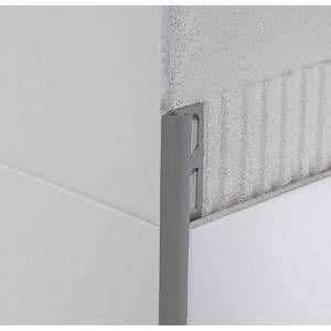 Profilo in PVC co-estruso Avorio lunghezza 270 cm Protrim RE Profilpas