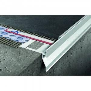 Profilo in alluminio verniciato per balconi 125x270mm Proterrace Drain FDP Progress Profiles